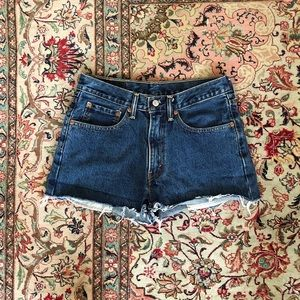 Vintage Levi's Cutoff Denim Shorts 29/30